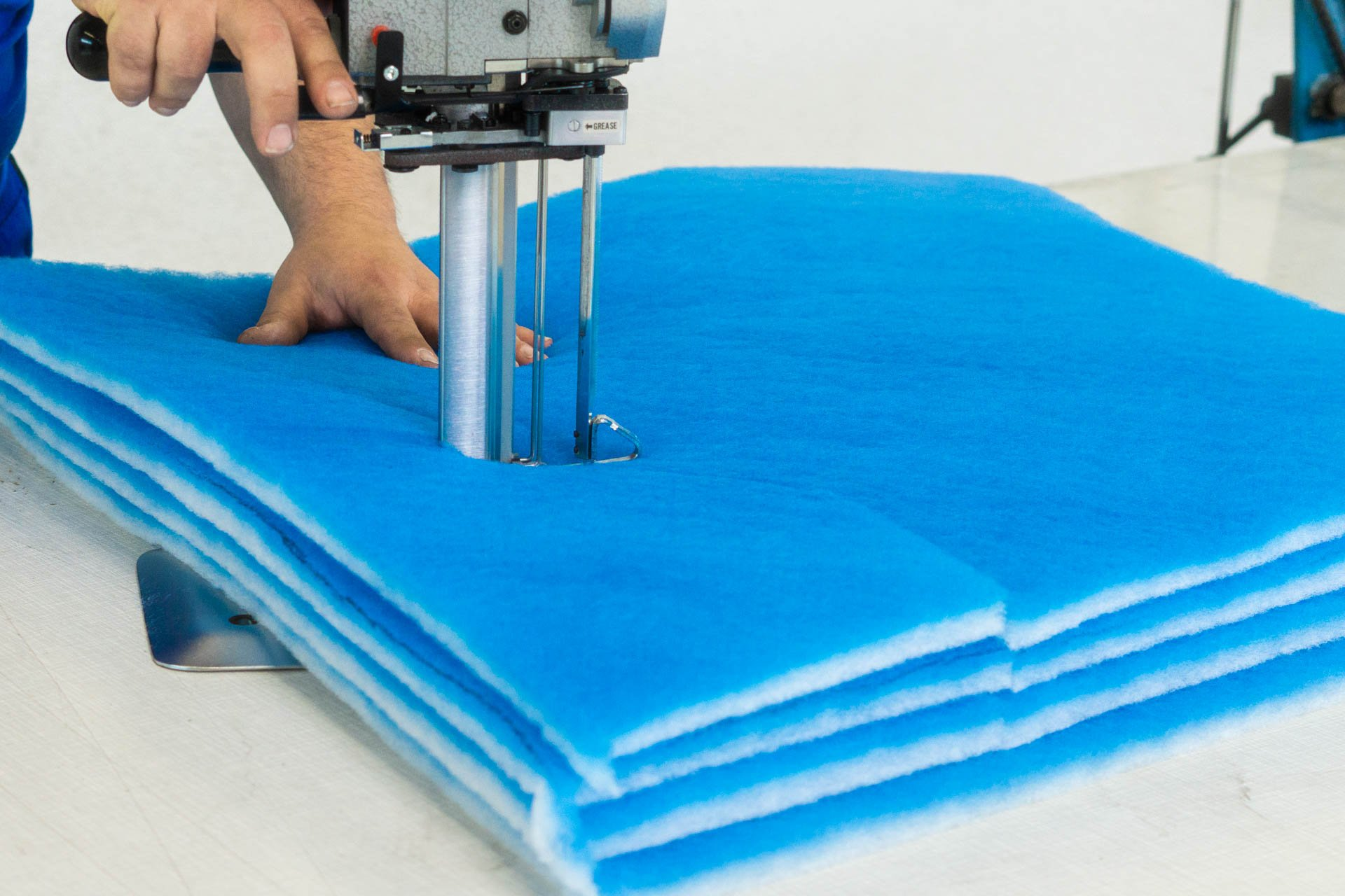 Filtermatte nach Maß