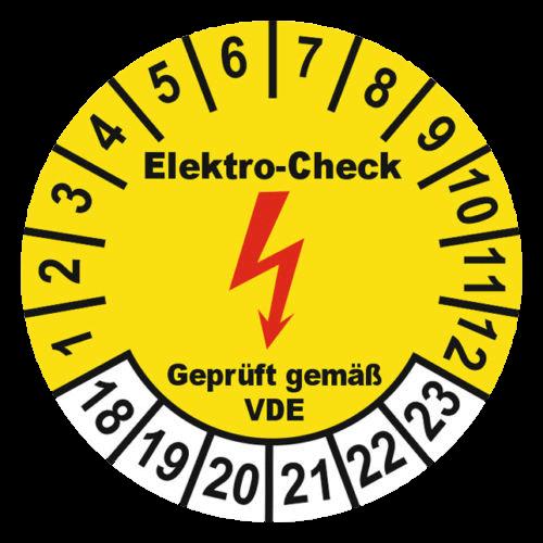 Elektro-Check Siegel